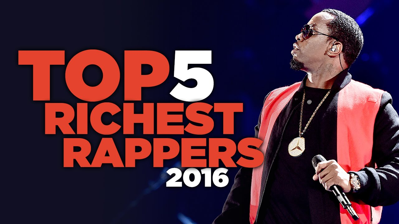 Top 5 Richest Rappers