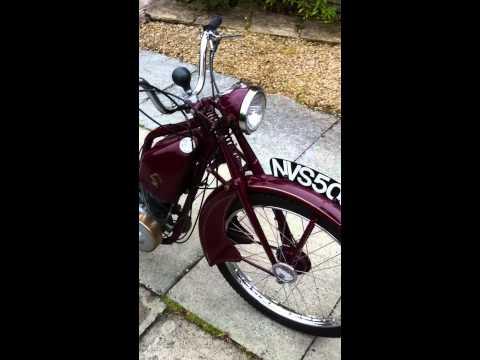 New Hudson Autocycle 98cc