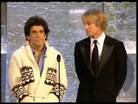Owen Wilson and Ben Stiller present Short Film Oscars® in 2004