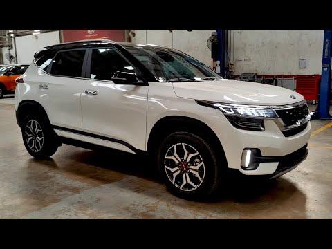 2021 New SUV KIA SELTOS Premium GDI - White Color. Call 0933968786