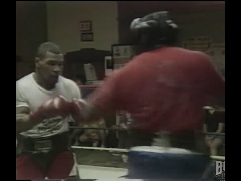 Mike Tyson Awesome Training in Catskill 1986 - No Headgear