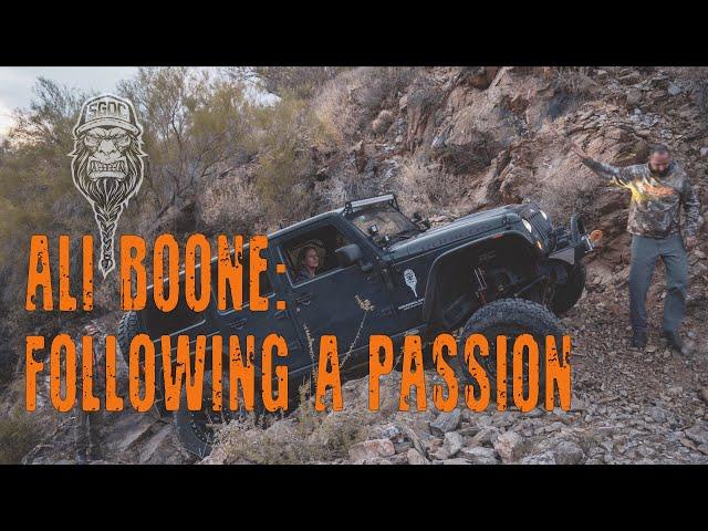 Ali Boone: Following A Passion