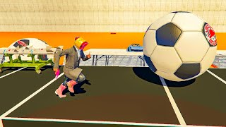 10-Player Cars VS Runners - GTA V Online Funny Moments | JeromeACE