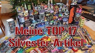 TOP 17 SILVESTER FEUERWERK ARTIKEL 2018/19