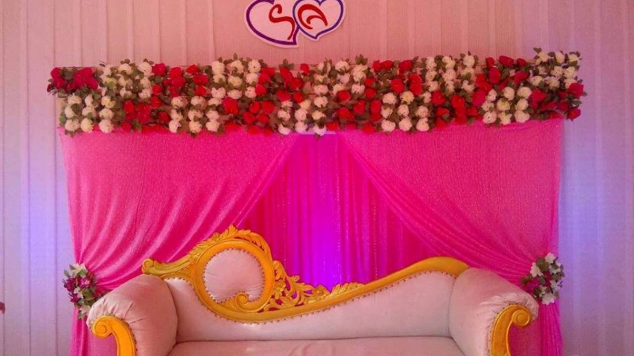 Madurai Decorators Wedding And Engagement Stage Decoration Youtube