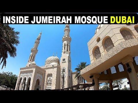 Inside Jumeirah Mosque 2019 – DUBAI