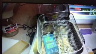 SAMSUNG GALAXY S5 FRY TEST TOTALLY EQUIBLE (must see)
