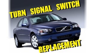Volvo P2 Turn Signal Switch Change Replacement (S60, v70 et al)
