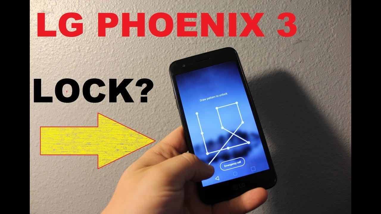 Lg Phoenix 3 * How to bypass LOCKED SCREEN (password , pattern lock)