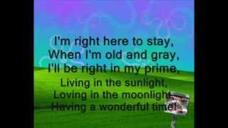 Tiny Tim -  Living in the Sunlight (Lyrics)