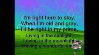 Repeat youtube video Tiny Tim -  Living in the Sunlight (Lyrics)