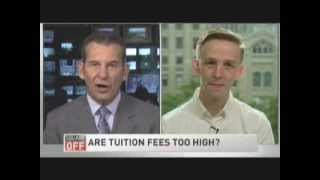 CFS-Ontario Chairperson Speaks on High Tuition Fees