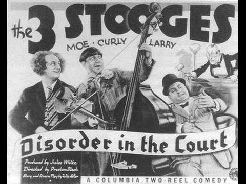Three Stooges - Disorder In The Court (1936)