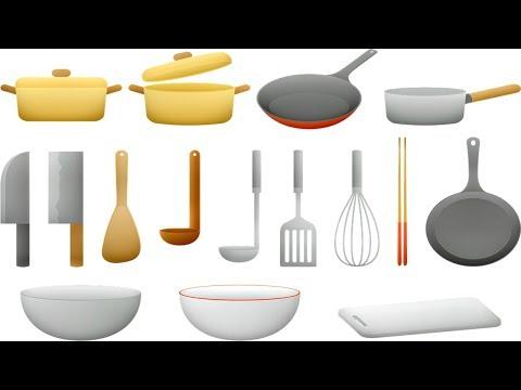 le-vocabulaire-de-la-cuisine.-ustensiles-de-cuisine.les-éléments-de-la-cuisine-en-français