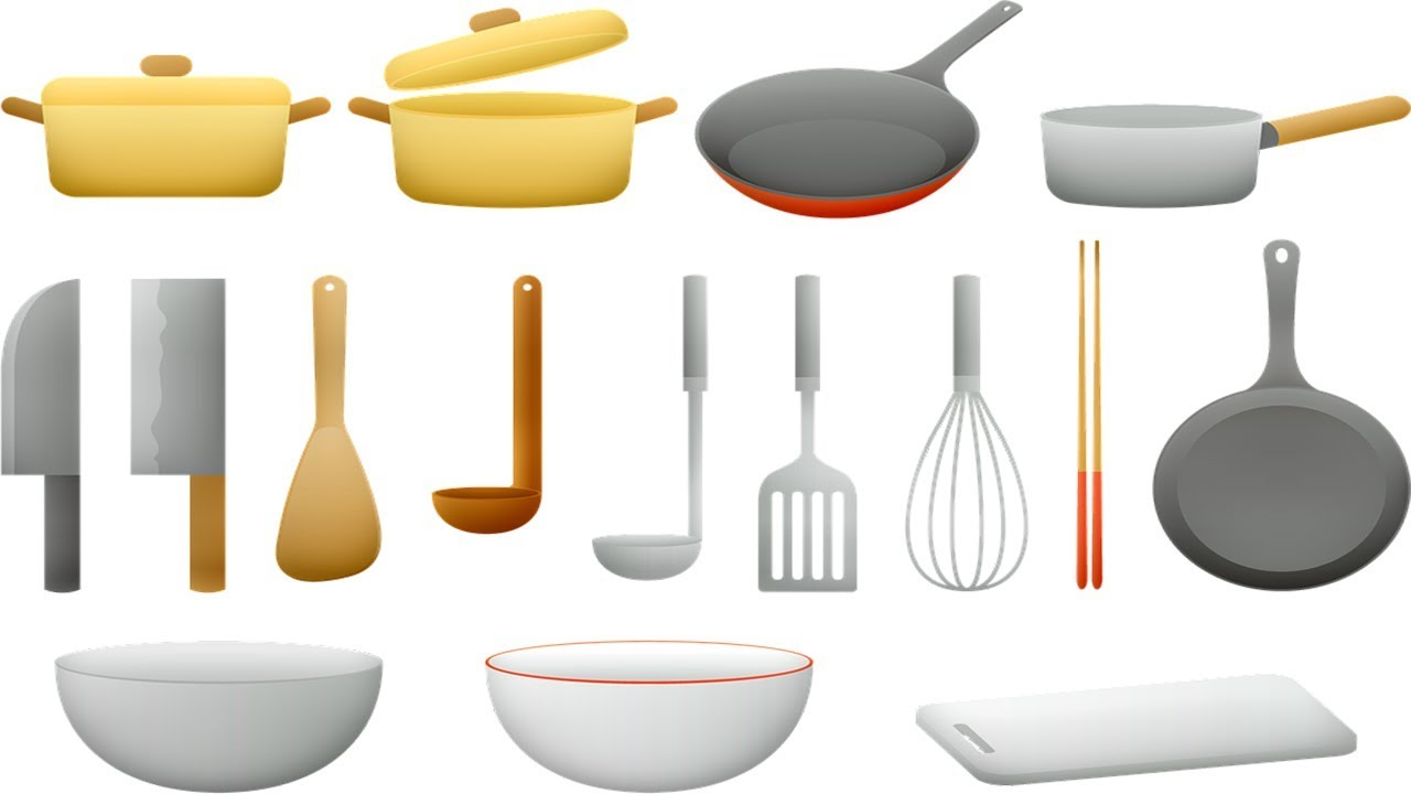 Le Vocabulaire De La Cuisine Ustensiles De Cuisine Les Elements