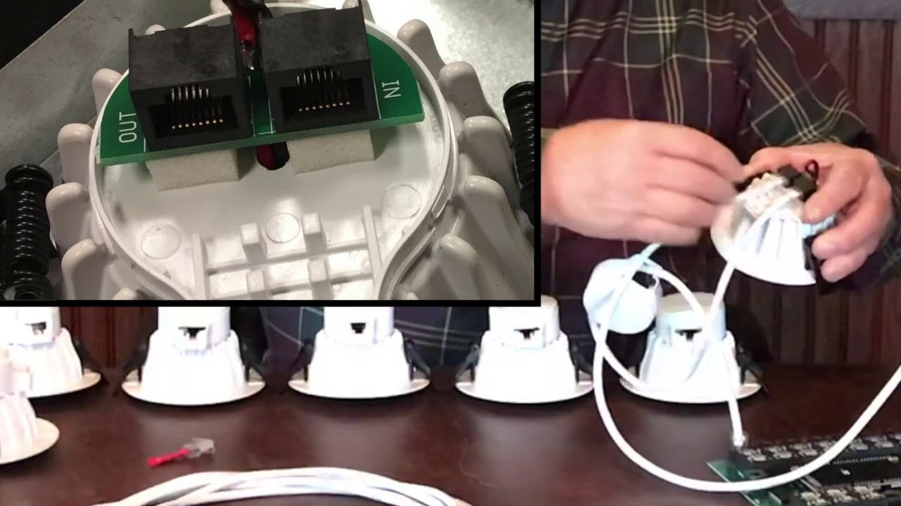 PMMI Lighting Daisy Chaining LED Light Fixtures  YouTube