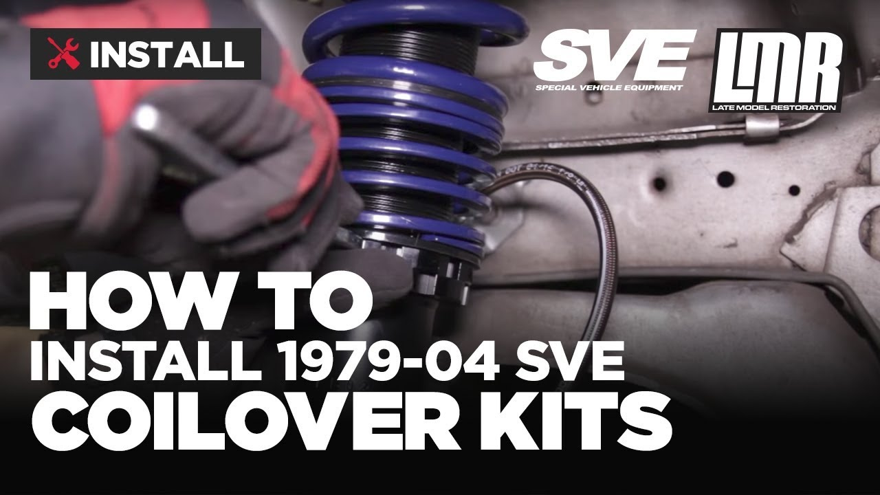medium resolution of how to install mustang coil overs sve 1979 2004