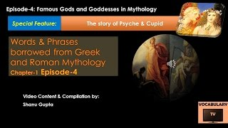 The story of Psyche & Cupid(Vocabulary:Allusions Episode-4)