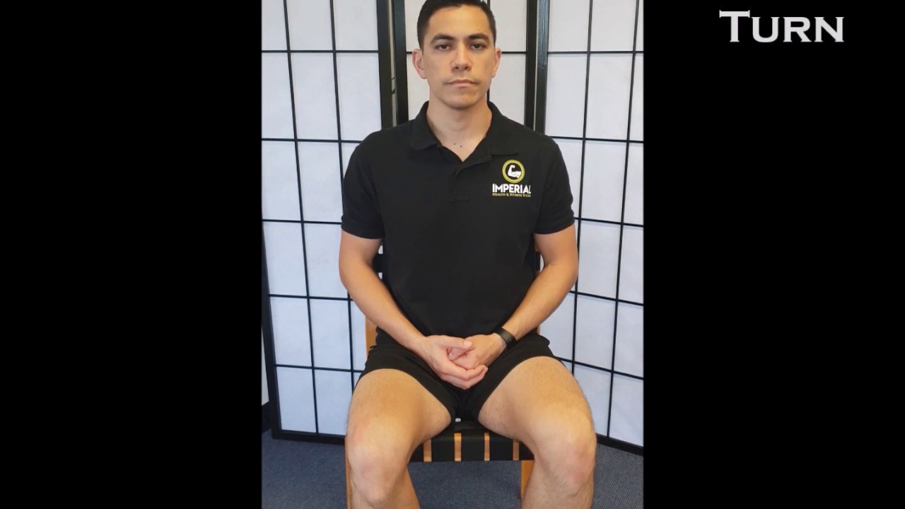 Seated Neck Exercises - Imperial Health & Fitness Studio