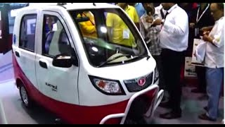 India's Second Ever Expo On Electric Vehicles At Kolkata - Part 2 Of 5 (A New & Beautiful E-Vehicle)