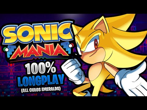 Sonic Mania 100% Longplay Walkthrough No Commentary [60FPS]