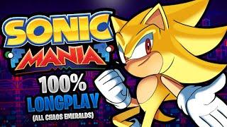 Sonic Mania 100% Longplay Walkthrough No Commentary [60FPS]