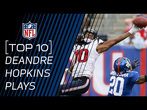 Top 10 DeAndre Hopkins Career Catches...so far! | #TopTenTuesdays | NFL