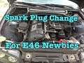 BMW E46 Maintenance How To Change Your Spark Plugs And Check The Fluids