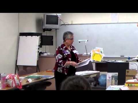 Debbie teaches Positive Approach to Care at Withlacoochee Technical College