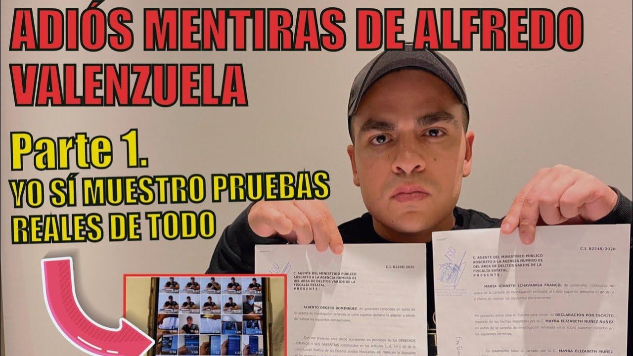 DESMIENTO A ALFREDO VALENZUELA CON PRUEBAS REALES   | Alberto Orozco
