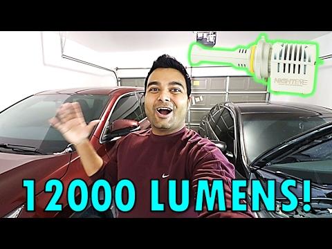 New Ultra Bright 12000 Lumens Headlights Next Gen Led