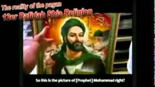 WAJAH RASULULLAH OLEH SYIAH? PENGHINAAN BESAR TERHADAP ISLAM!
