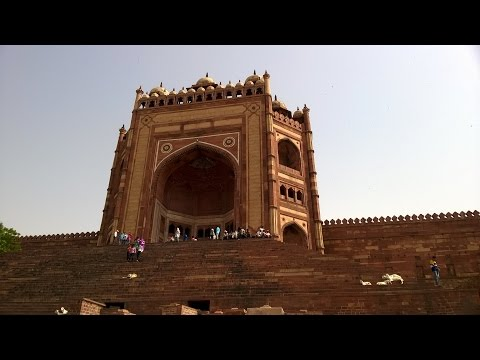 Trip to FATEHPUR SIKRI, Agra, India