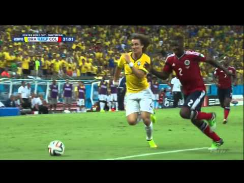 Brazil Colombia 2014 World Cup Full Game ESPN Quarterfinal Quarterfinals Brasil
