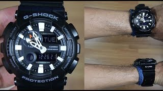 CASIO G-SHOCK G-LIDE GAX-100B-1A - UNBOXING