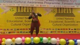 Dhadhina Natina Bengali dance