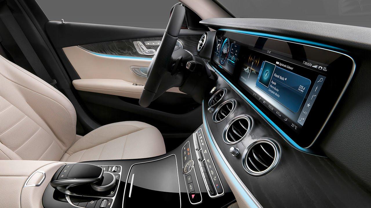 Het Interieur Van De Nieuwe Mercedes Benz E Klasse Youtube