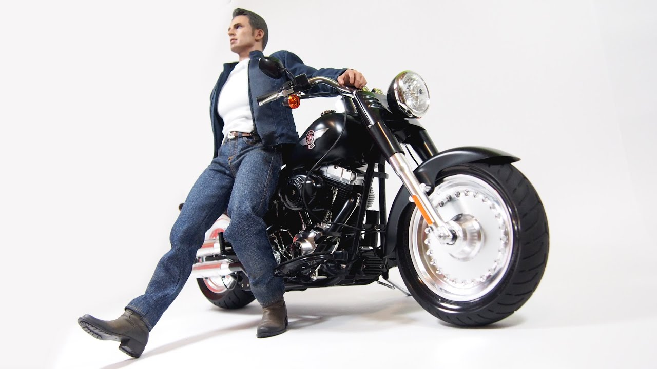Tamiya 1/6 Harley Davidson FLSTFB Fat Boy Lo - Model Building Stop