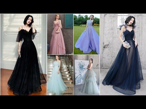 أحدث وأجمل فساتين المناسبات طويلة🌺New 2021 long evening dresses