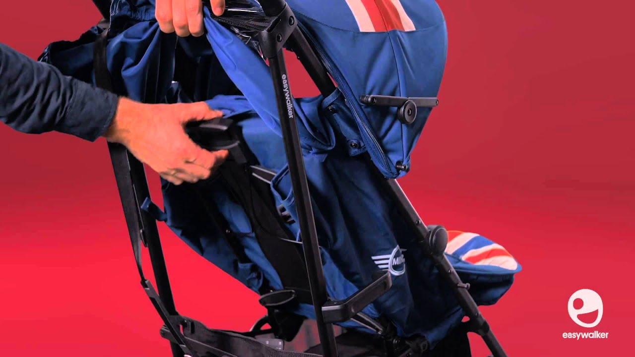 Детская коляска трость Easywalker MINI by buggy Union Jack