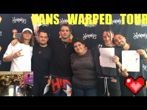 VA Beach Warped Tour 2018 | REUNITING WITH CHASE ATLANTIC AND JENNA MCDOUGALL