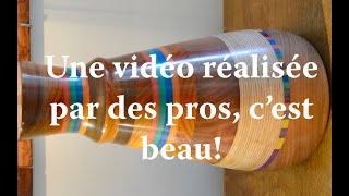 LA MAIN ET LE BOIS, une vidéo particulière.