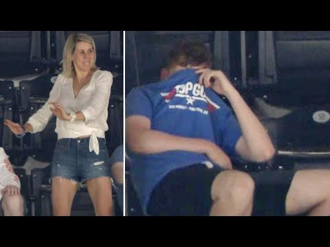 Teen Mortified as Dancing Mom Pops Up on San Diego Padres Jumbotron