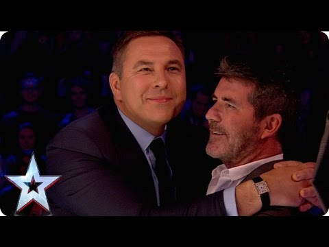 David And Simon Cosy Up For Their Chat With Stephen   Semi-Final 2   Britain's Got More Talent 2016