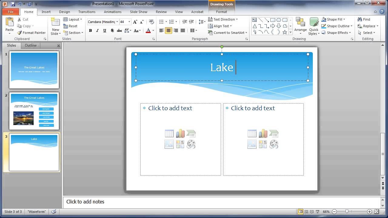interactive presentation essay