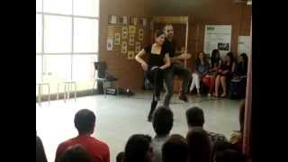 Body percussion al INS de Manlleu (1)