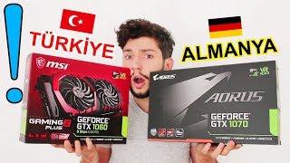 Almanya'daki Bilgisayar Parçalarının Fiyatlarını Türkiye İle Kıyasladım! Almanya'ya Gittim