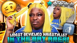 I WENT TO THE WORST REVIEWED HAIR STYLIST IN THE BAY AREA (GONE WRONG) **WE FOUGHT** FT. SOGOODHAIR