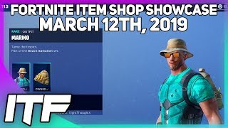 Boutique d'objets Fortnite 'NOUVEAU' MARINO SKIN! [12 mars 2019] (Fortnite Battle Royale)