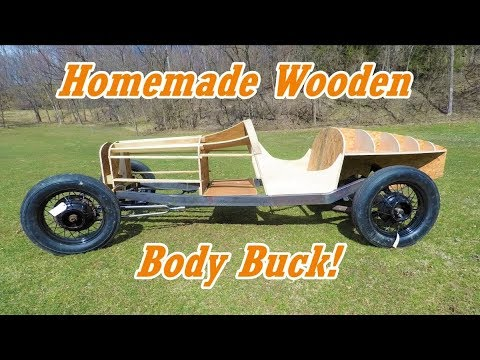 Building A Wooden Body Buck From Scratch | Boat-tail Speedster Pt.20